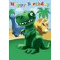 Little Dinosaur Birthday Card