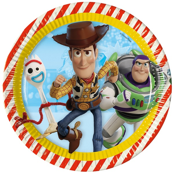 Toy Story 4 Party  Plates