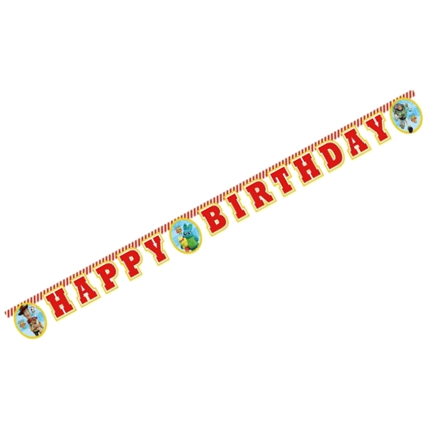 Toy Story Party Happy Birthday Banner