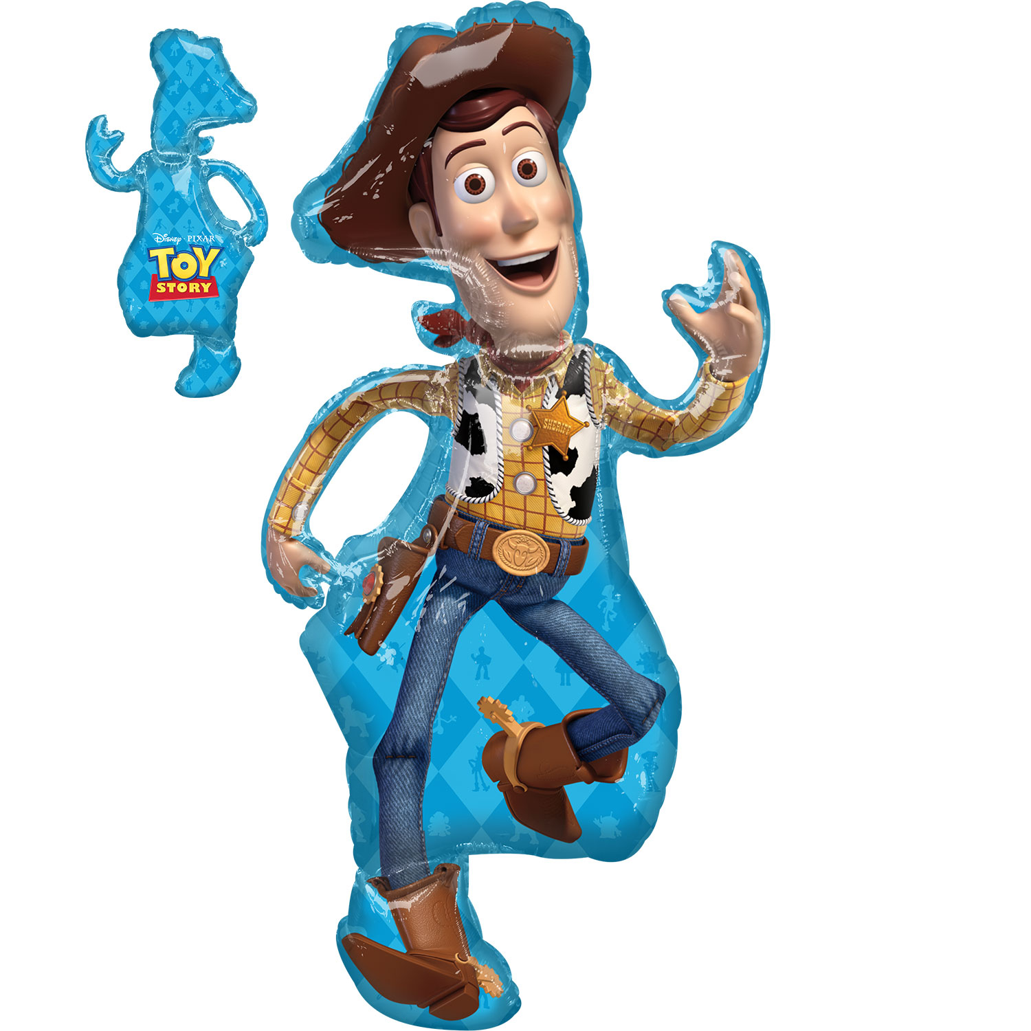 Toy Story Party Woody Supershape Foil Balloon