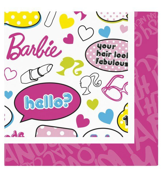 Barbie Fab Party Napkins