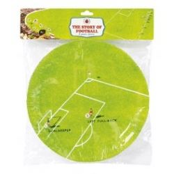 Ladybird Football Party Plates