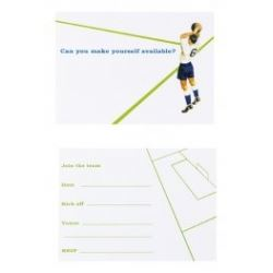 Ladybird Football Party Invitations