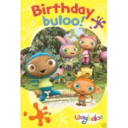 Waybuloo Birthday Sticker Card