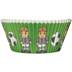 Football Party Cup Cake Cases