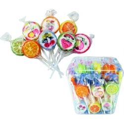 Party Favours Rock Fruit Lollipops