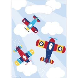 Lil Flyer Airplane Party Bags