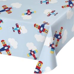 Lil Flyer Airplane Party Tablecover