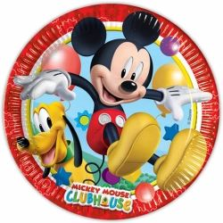 Disney Mickey Mouse Club House Party Plates