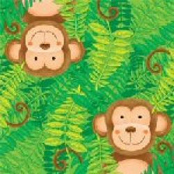 Monkey Party Napkins