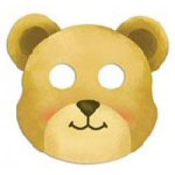 Teddy Bear Party Masks