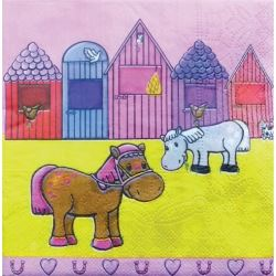 Lovely Chubblies Pony Party Napkins