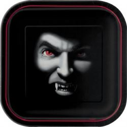 Halloween Vampire Party Plates
