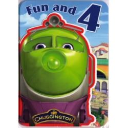 Chuggington Happy Birthday Card Age 4
