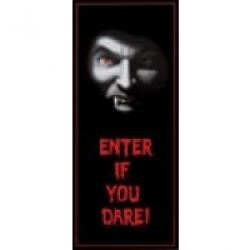 Halloween Vampire Party Door Banner