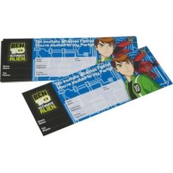 Ben 10 Ultimate Alien Party Invitations