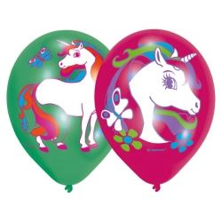 Rainbow Unicorn Party Balloon