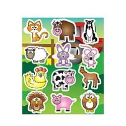 Farm Animal Party Stickers