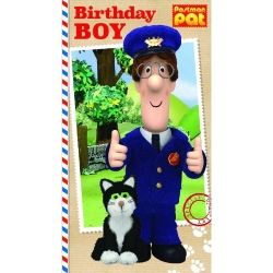 Postman Pat Party Birthday Boy Card