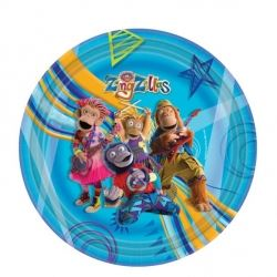 Zingzillas Party Plates