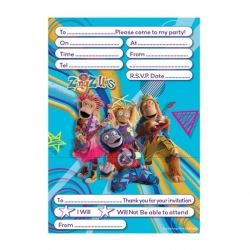 Zingzillas Party Invitations