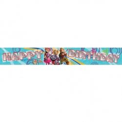 Zingzillas Party 5 Yard Banner