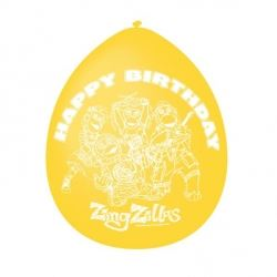 Zingzillas Party Happy Birthday Balloons