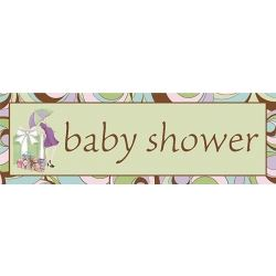 Parenthood Party Baby Shower Giant Banner