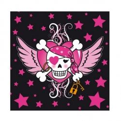 Pirate Girl Party Napkins