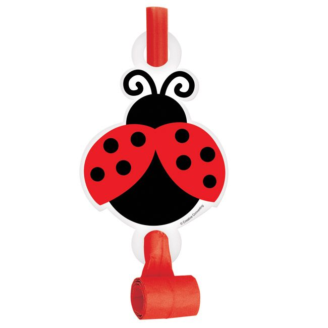 Little Ladybird Party Blowouts