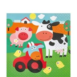 Farm Fun Party Napkins