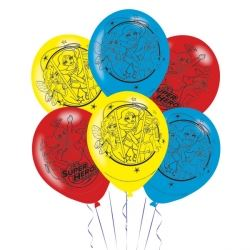 DC Super Hero Girls Party Balloons