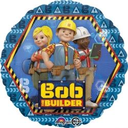 New Bob The Builder Foil Party Balloon