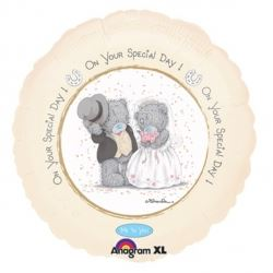 Me To You Tatty Bear Foil Balloon Wedding Day