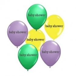 Parenthood Baby Shower Party Balloons