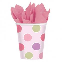 Sweet Little Cupcake Girl 1st Birthday Party Eco Cups