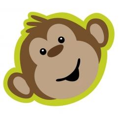 Monkeyin Around Party Invitations