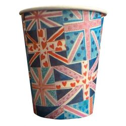 Union Jack  Party Cups