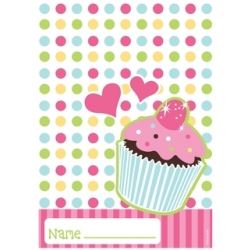 Sweet Treats Cup Cake Party Bags