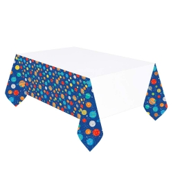 Blast Off Space Birthday Party Tablecovers