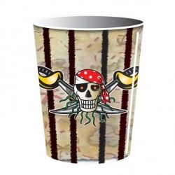 Pirate Boy Black Party Cups
