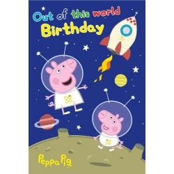 Peppa Pig George Happy Birthday Puzzle Card