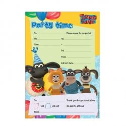Timmy Time Party Invitations