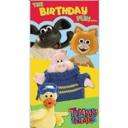 Timmy Time Happy Birthday Card No Age