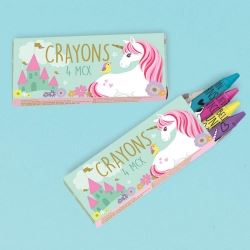 Unicorn Magical Party Favour Crayons