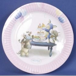 My Blue Nose Friends Party Plates