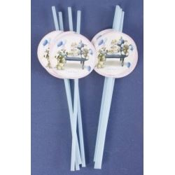 My Blue Nose Friends Party Straws