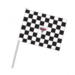 Cars Waving Party Flag Decorations