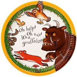 The Gruffalo Party Plates PK 8