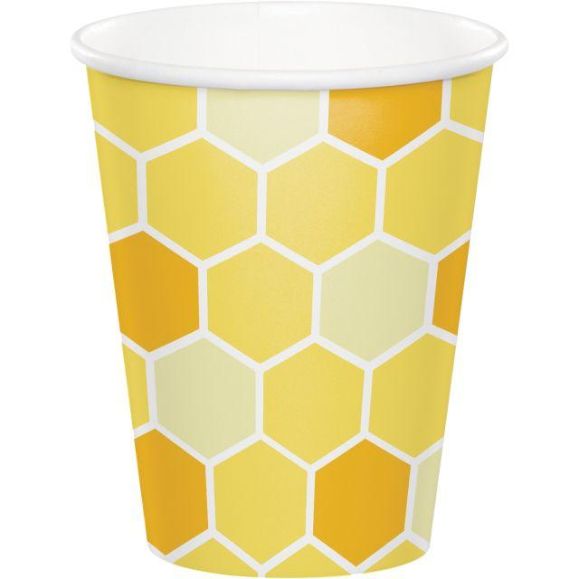 Bumble Bee Baby Party Cups
